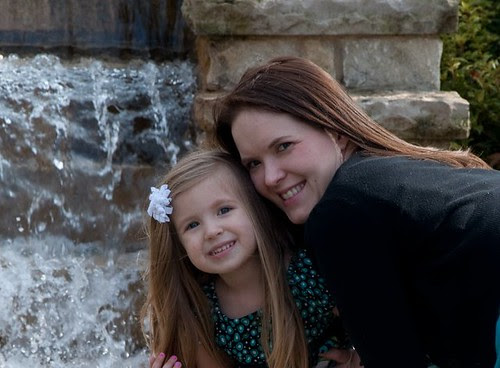 Laci and Mommy