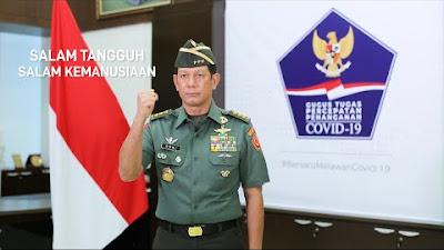 Pesan Ketua Gugus Tugas Letjen TNI Doni Monardo