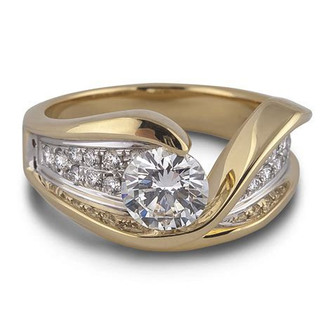 FOREVERMARK DIAMOND ENGAGEMENT RING   Lugaro