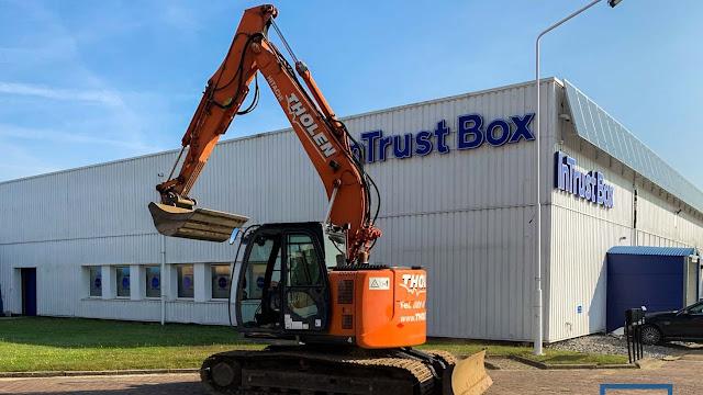 Vernieuwing parking InTrust Box