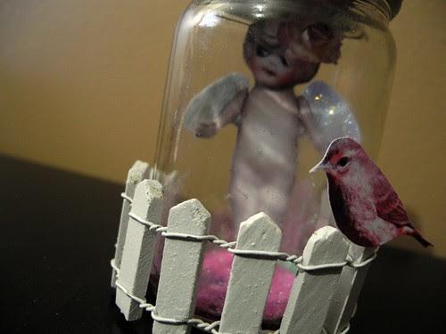 Fairy in a Jar (detail 1)