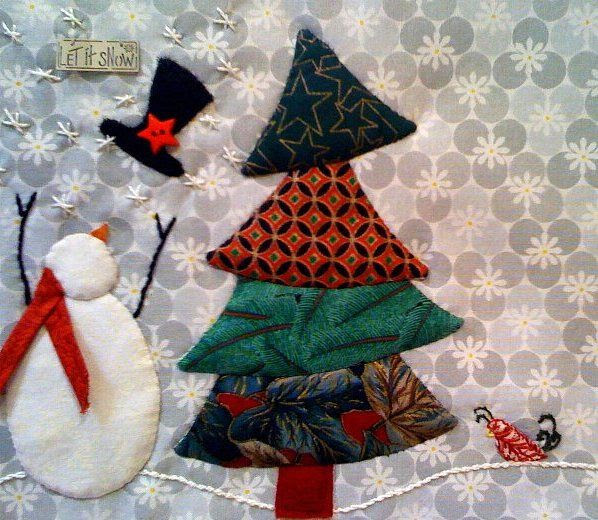 Holiday Mug Rug | Flickr - Photo Sharing!