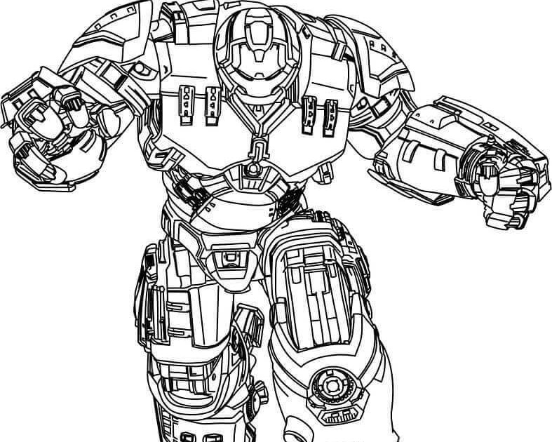 Lego Hulkbuster Coloring Pages Crafts - Coloring Pages Ideas