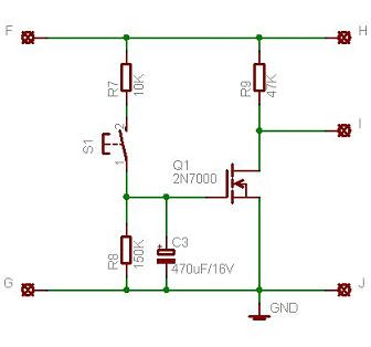MOSFET-timer hẹn giờ mạch