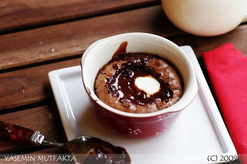 Pratik Çikolatalı Sufle