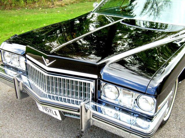 1973 Cadillac Coupe DeVille 15,026 miles!!! 64 65 66 67 68 ...