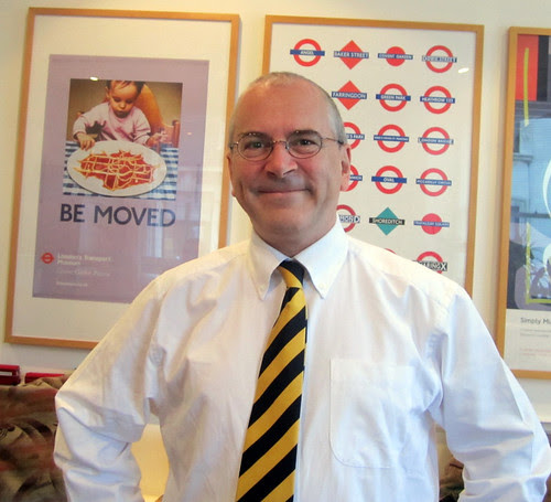 Peter Hendy TfL Commissioner by Annie Mole