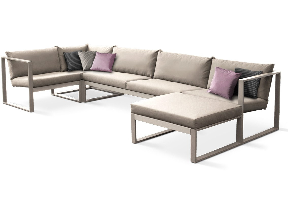 MODULAR LOUNGE Modular sofa by FueraDentro design Hendrik ...