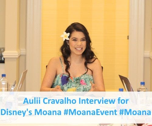 Aulii Cravalho Interview for Disney's Moana Movie