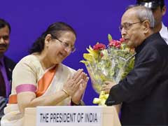 President Pranab Mukherjee Makes Strong Pitch for Women Reservation In Public Offices