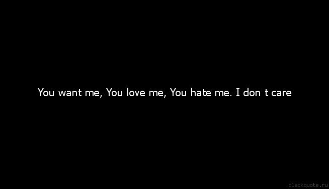 I Dont Care If You Hate Me Quote Quote Number 703052 Picture Quotes