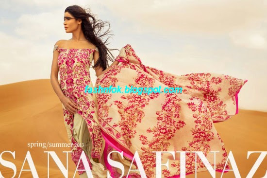 Sana-Safinaz-Lawn-Spring-Summer-Collection-2013-New-Fashinable-Clothes-Dress-Designs-