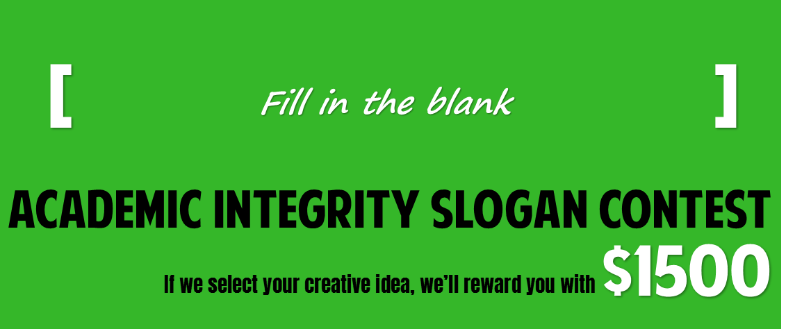 Cod Academic Integrity Slogan Contest College Of Dupage Library