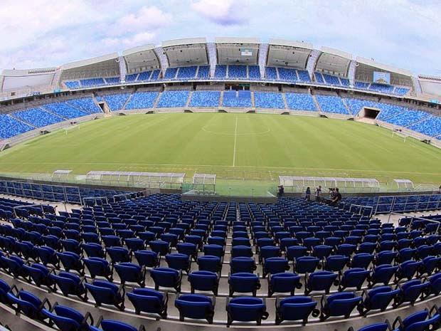 Shows acontecem dentro da Arena das Dunas (Foto: Canindé Soares/G1)