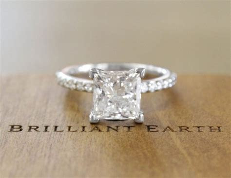 6 Stunning Princess Cut Engagement Rings   Brilliant Earth