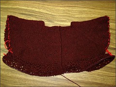 February Lady Sweater progress