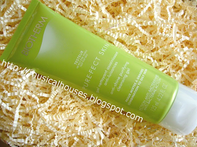 biotherm purefect cleansing gel