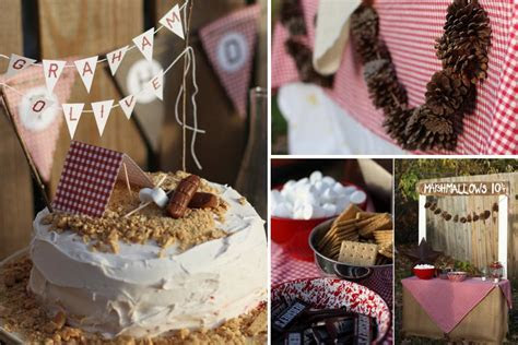 Trending Now: Rustic Camping Themed Baby Shower   Baby