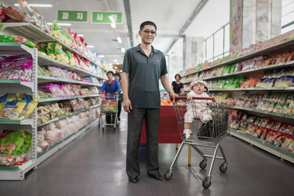 І знову ми в магазині Пхеньяна