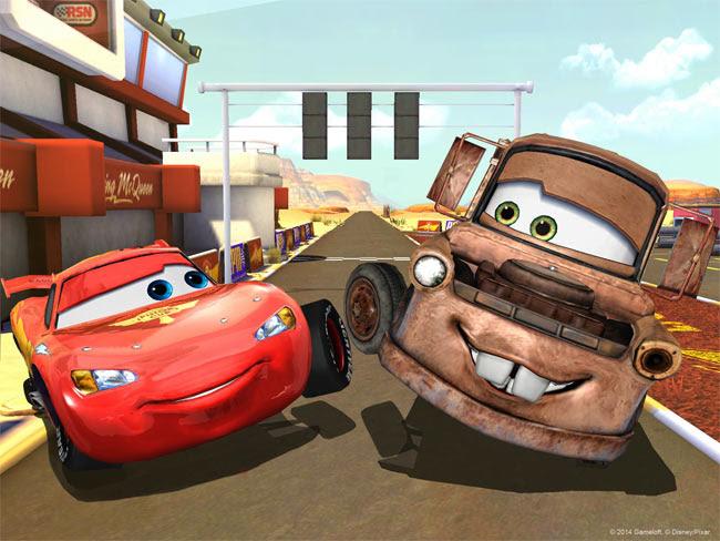 Cars Fast as Lightning MOD APK 2015