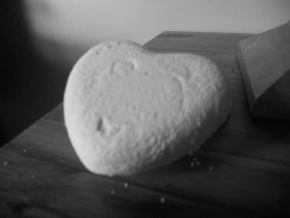 1 bar  heart shaped True Spanish Castile ( olive oil) Soap Great Gift