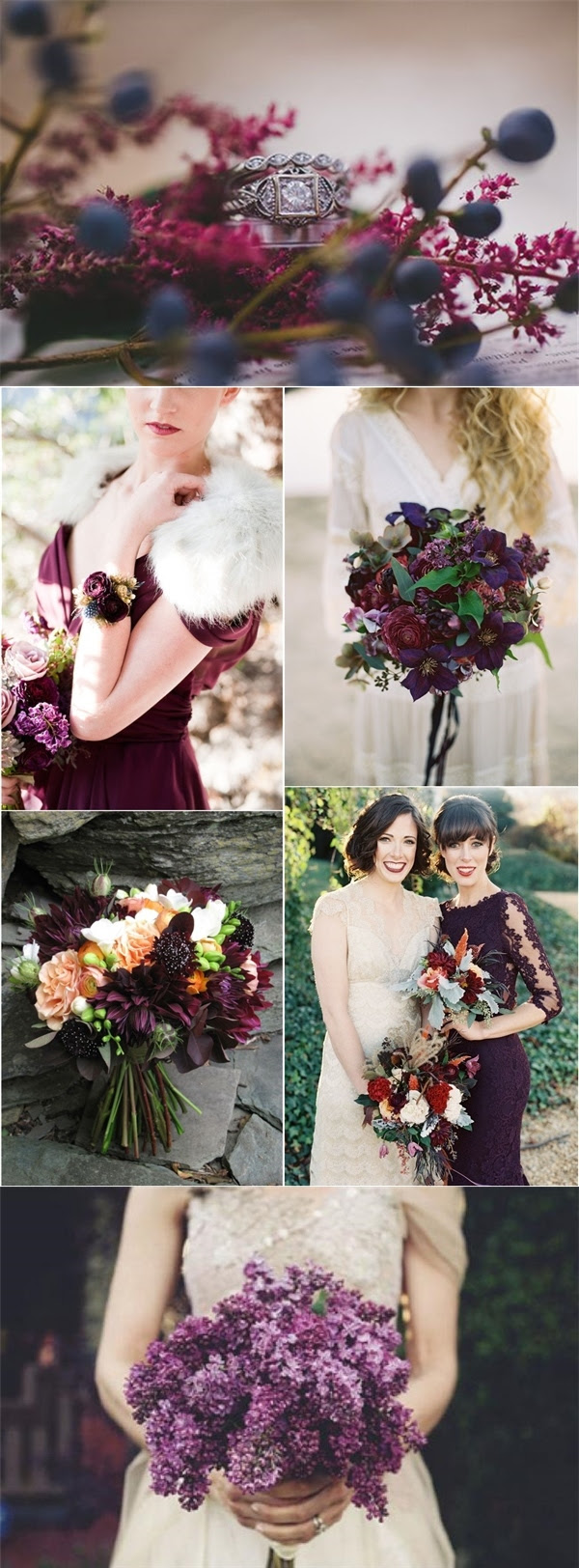 35 Dark Purple Wedding Color Ideas for Fall/Winter ...