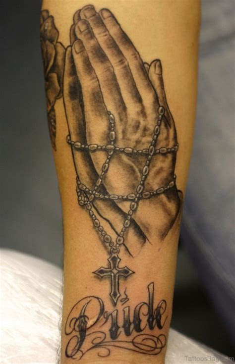 great rosary tattoos arm