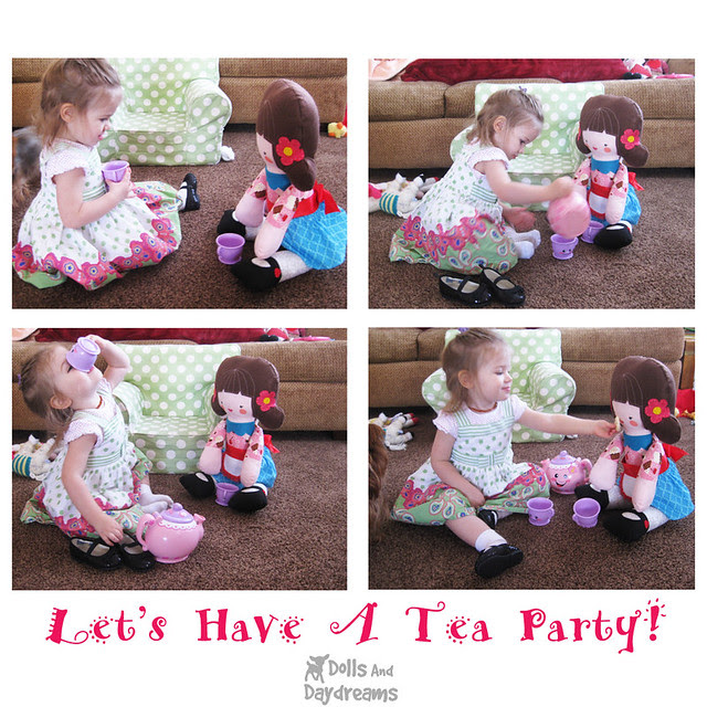 Tea Party with Big Dolly!