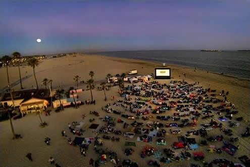 Moonlight Movies on the Beach -  Cherry Beach