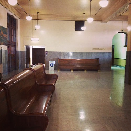 Classy old train station #touring #oregon