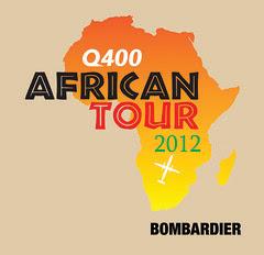 Bombardier Q400 NextGen Africa Tour