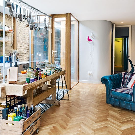 Kitchen   Be inspired by an eclectic Victorian flat in north London   Victorian house   House Tour   PHOTO GALLERY   Livingetc   Housetohome