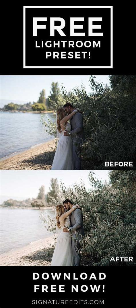 THE BEST Wedding Lightroom Presets Free! These free