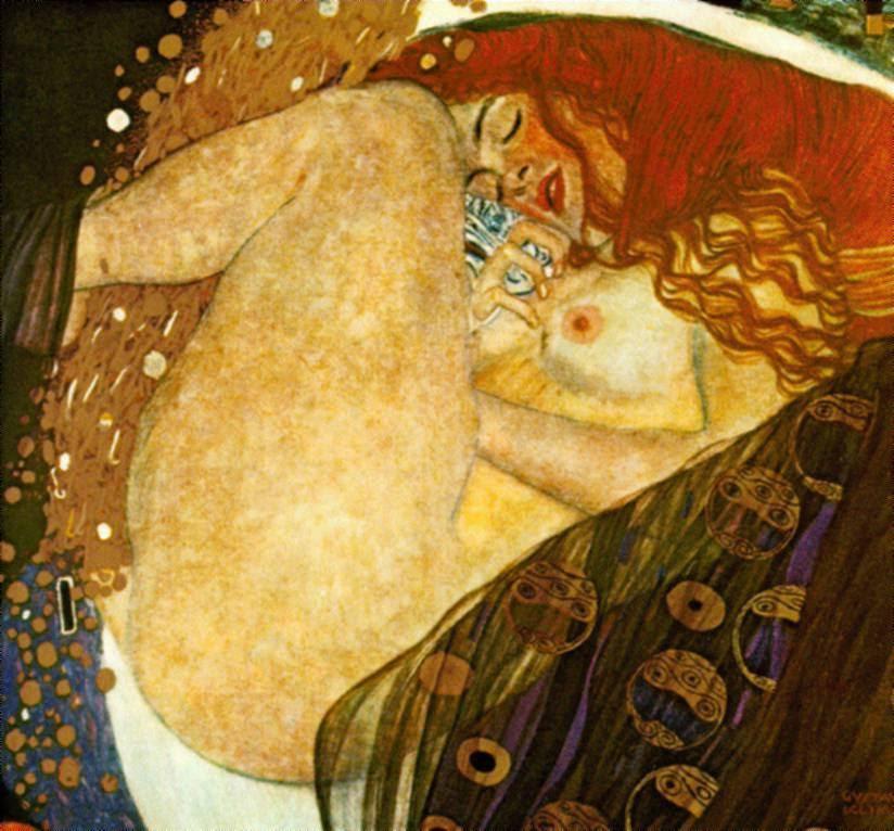 Danae — Gustav Klimt
