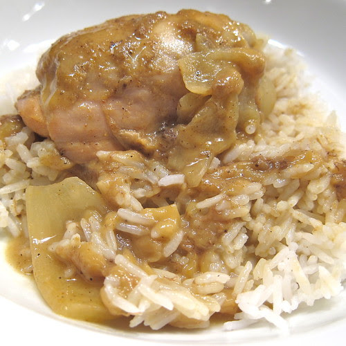 Chicken & Banana Curry