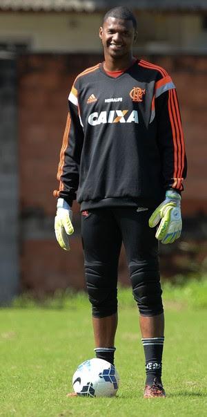 Felipe Flamengo treino (Foto: Pedro Martins / Agência Estado)