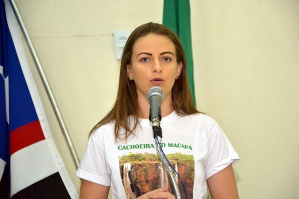 Ana Paula Cardoso Bonfim, secretária ADCMA