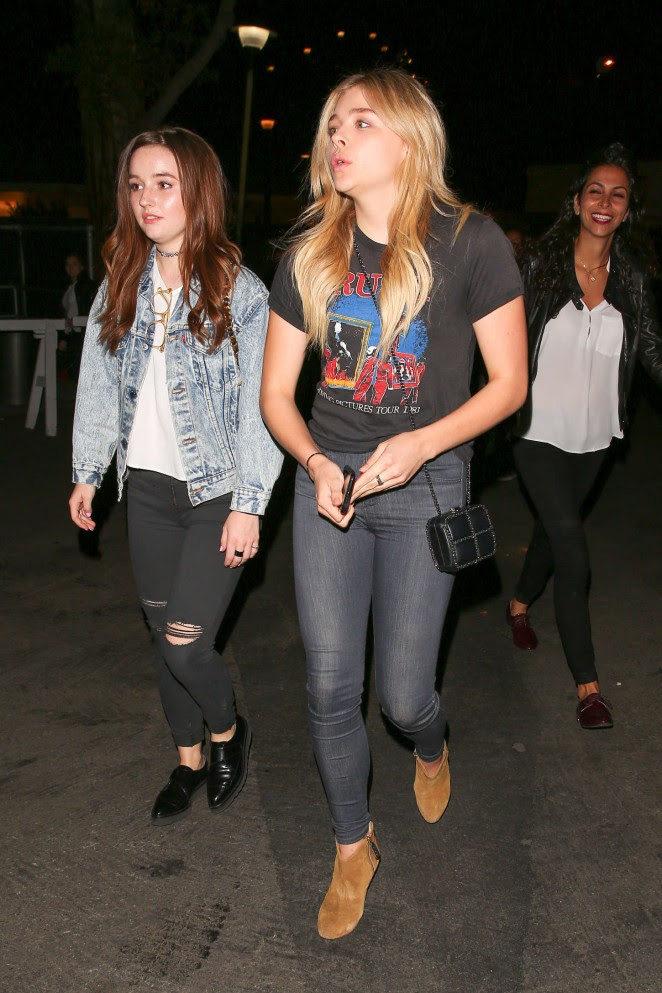 Chloe Moretz and Kaitlyn Dever: We Can Survive Concert -19