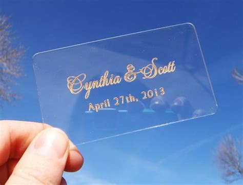 15 best Acrylic Place Cards images on Pinterest   Place