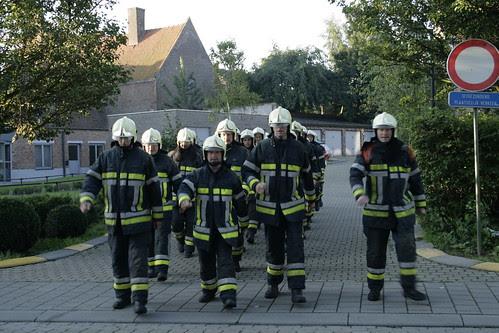 fire brigade Wervik 2 by Wim Vandenbussche