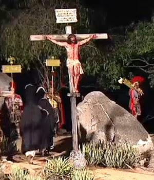 AO VIVO: Veja a encenação da Paixão de Cristo em Pernambuco (Reprodução/Globo Nordeste)