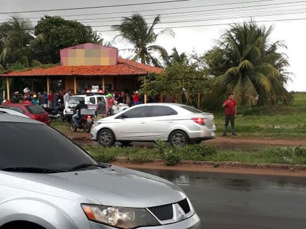 Emerson de Jesus Castro Rodrigues, 18 anos, foi morto a tiros enquanto roubava a van no MA (Foto: Alessandra Rodrigues/Mirante AM)