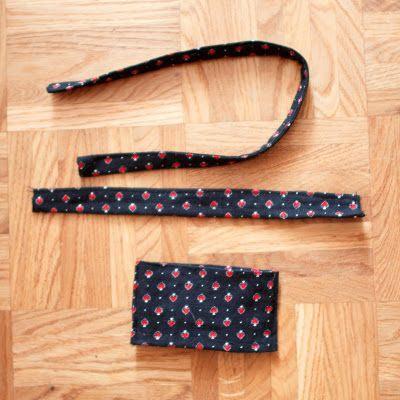 Viele viele Füchse: How to make a bow tie ?