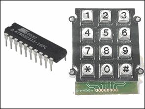 Giới thiệu về Atmel AT90S2313 và ứng dụng khóa mã hóa