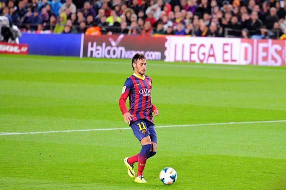 Neymar da Silva Santos Jr. © Christian Bertrand/Shutterstock.com