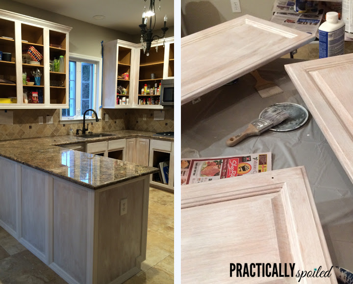 From Hate To Great A Tale Of Painting Oak Cabinets