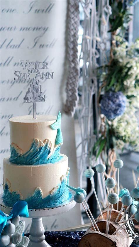 Kara's Party Ideas Atlantis   Ocean Inspired Wedding