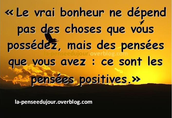 puissance de la pensée, pensée positive,
