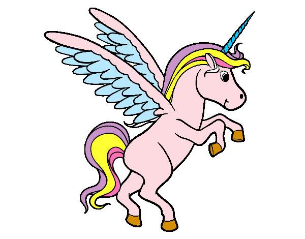 Dibujo De Unicornio Pintado Por Shama En Dibujos Net El Dia 20 07 12