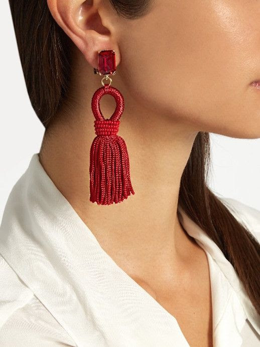 Le Fashion Blog 13 Earrings To Spice Up Your Outfit Earrings Via Matches Fashion